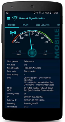 Network Signal Info - internet speed boosting app