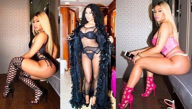 Nicki Minaj hot legs