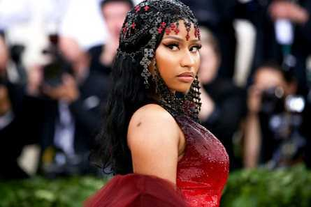 Nicki Minaj hall of fame walk