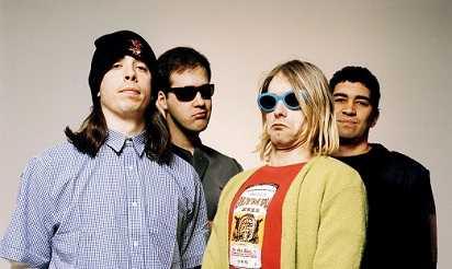 Kurt Cobain and Nirvana 1990
