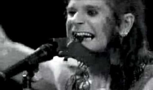 During a live performance Ozzy Osbourne bit off a bat's head for a publicity stunt.