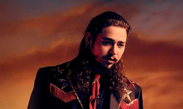 Hot pics of Post Malone