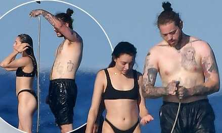 Post Malone is secretly dating Ashlen Diaz for three years