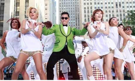 Music video for Psy Gangnam Style