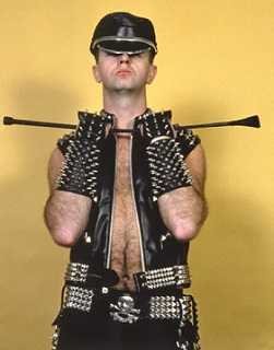 80s gay dude Rob Halford