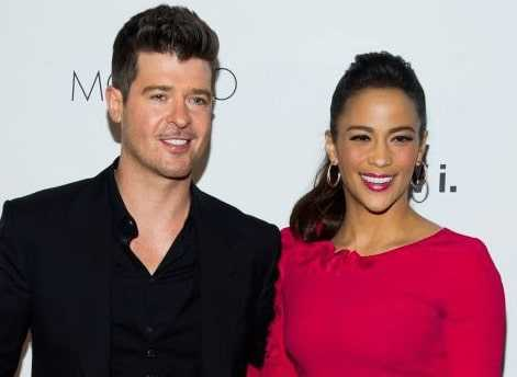 Robin Thicke was deep in love with Paula Patton