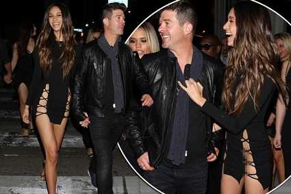 April Love is Robin Thickes mistress