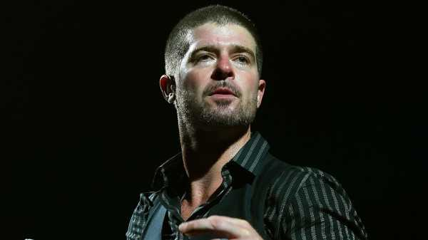 Robin Thicke went through negative emotions when his debut album failed.