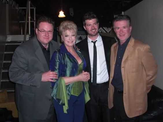 Robin Thickies parents divorced when he was very young
