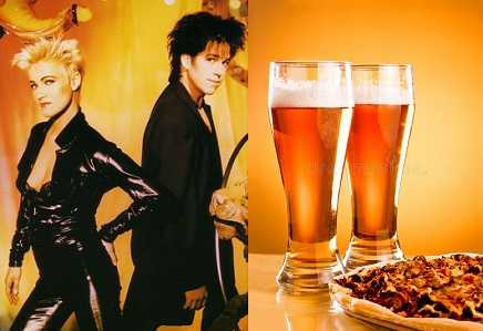 Roxette drank beer before live performance to avoid nervous breakdown