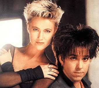 Marie Fredriksson was the vocalist and  Per Gessle was the gutarist for Roxette