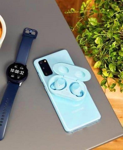 Samsung S20 5G basic version Cloud Blue color
