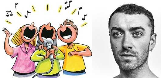 Sam Smith cannot stand random people singing popular songs