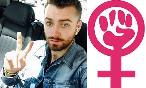 Sam Smith is a pro Feminism activist