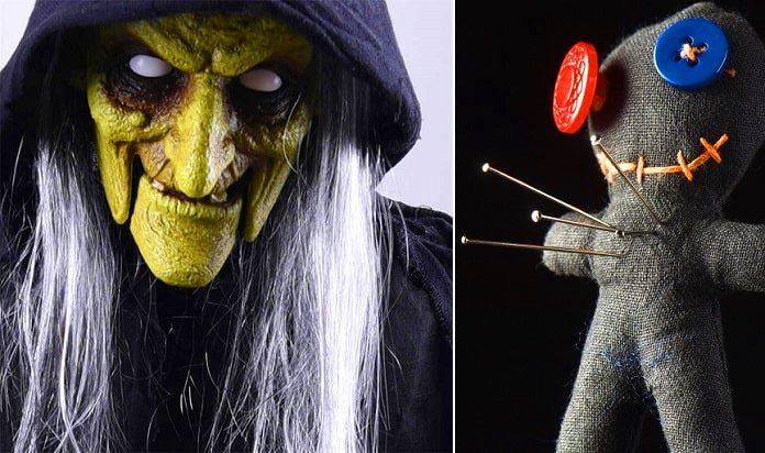 Ozzy Osbourne has many satanic spells cast on him