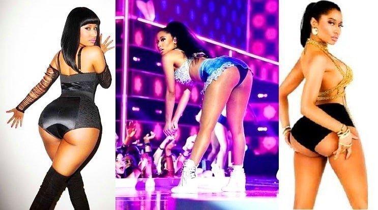 Nicki Minaj booty show live