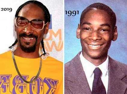 Snoop Dogg 20 year challenge