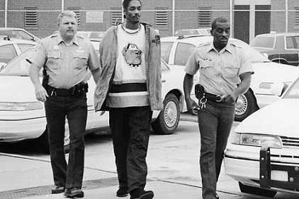 Snoop Dogg has been arrested many times.