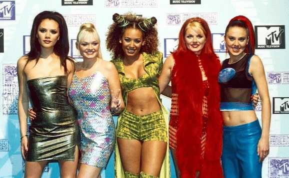 Cute pics of Spice Girls