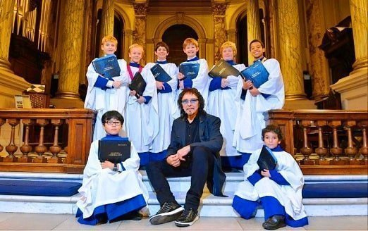 Tony Iommi became a devout Catholic in his latter years