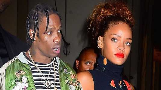 Travis Scott dated Rihanna for a while