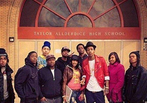 Wiz Khalifa is an alumni of Taylor Allderdice high school