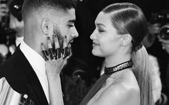 Romantic pics of Zayn Malik and Gigi Hadid