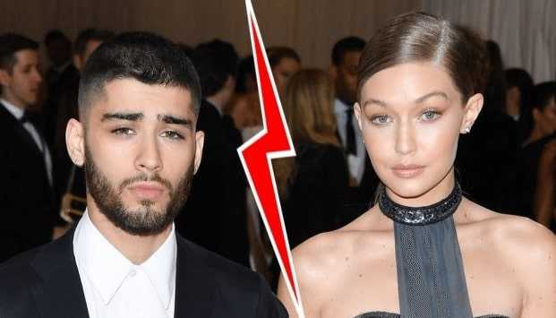 Breakup of Zayn Malik and Gigi Hadid