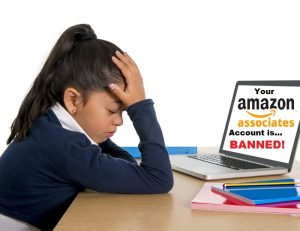 your amazon associates account has been disabled