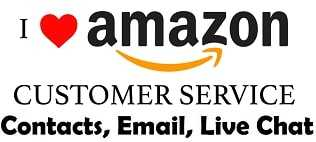 Different ways to contact Amazon Customer care for a refund