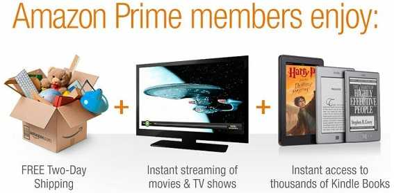 How to get amazon prime membership free?