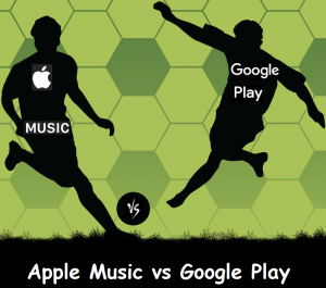 Difference between Apple Music and Google Play Music