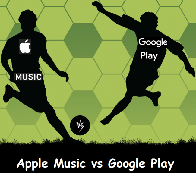 difference between apple music and google play