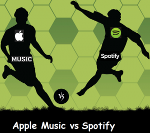 difference between apple music and spotify