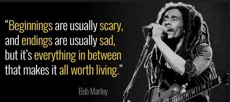 Bob Marley quirky quotes.