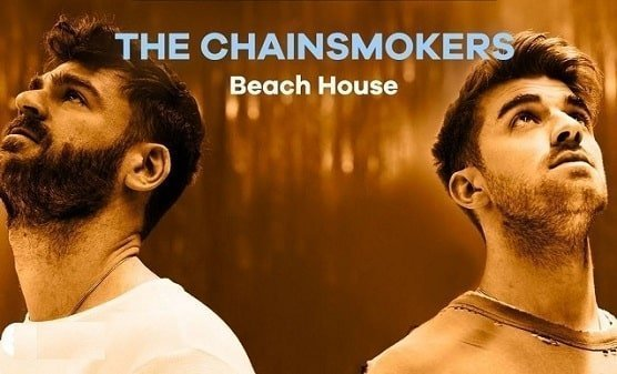 Live performance of Chainsmokers