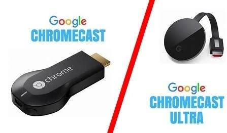 Difference between Google Chromecast and Google Chromecast Ultra