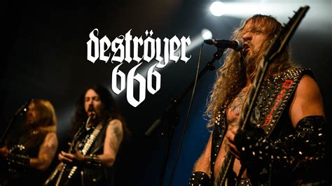 Streams songs from the Blackmetal band Destroyer 666 on Spotify, apple music and amazon music unlimited.