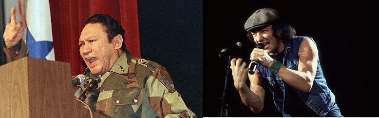 AC DCs music helped authorities arrest Panama dictator General Manuel Noriega