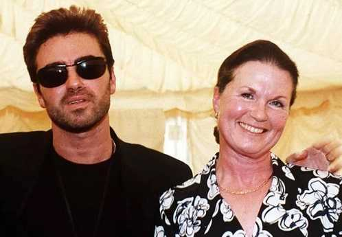 George Michael is buried next to his mother in London.