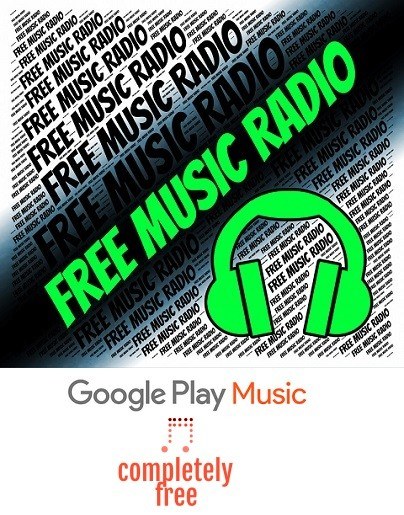 How to Google play music completely free?