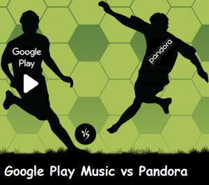Google Play Music vs Pandora, An Indepth Analysis