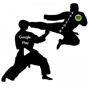 difference between google play music and spotify