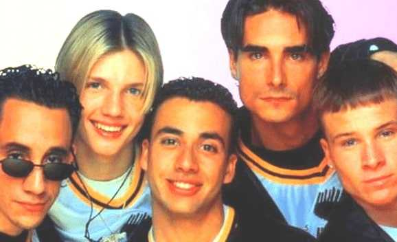 Hot pics of Backstreet Boys
