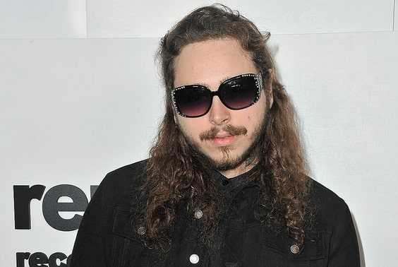 Post Malone in shades