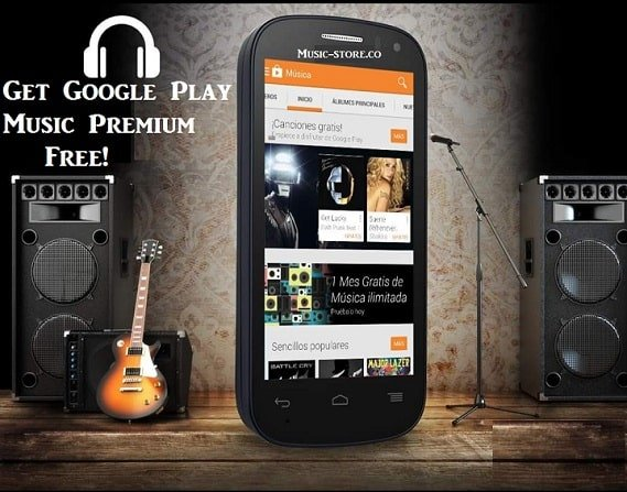 6 months subscription of google play music free