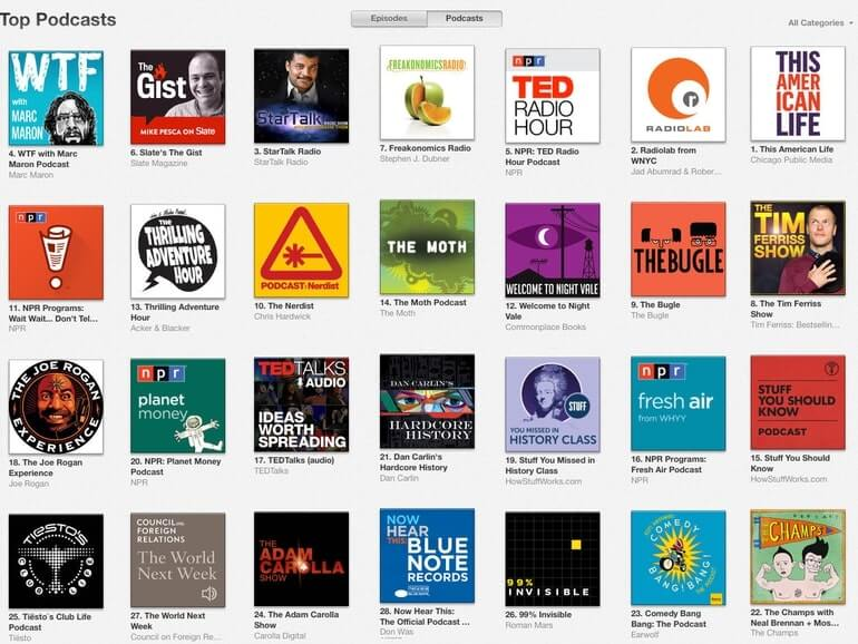 iTunes app has lots of free webinars and podcasts