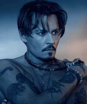 Johnny Depp has a unique taste for tattoos.