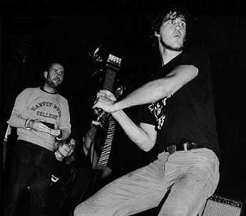 Krist Novoselic of Nirvana was as crazy as Kurt Cobain.