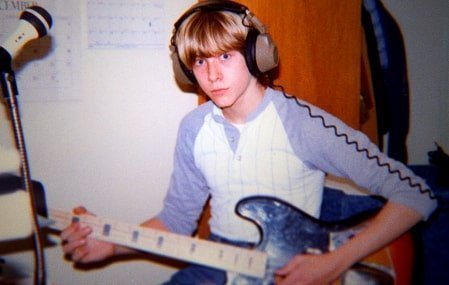 Kurt Cobain was thrown out by his mom